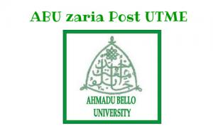 ABU-Zaria Post UTME